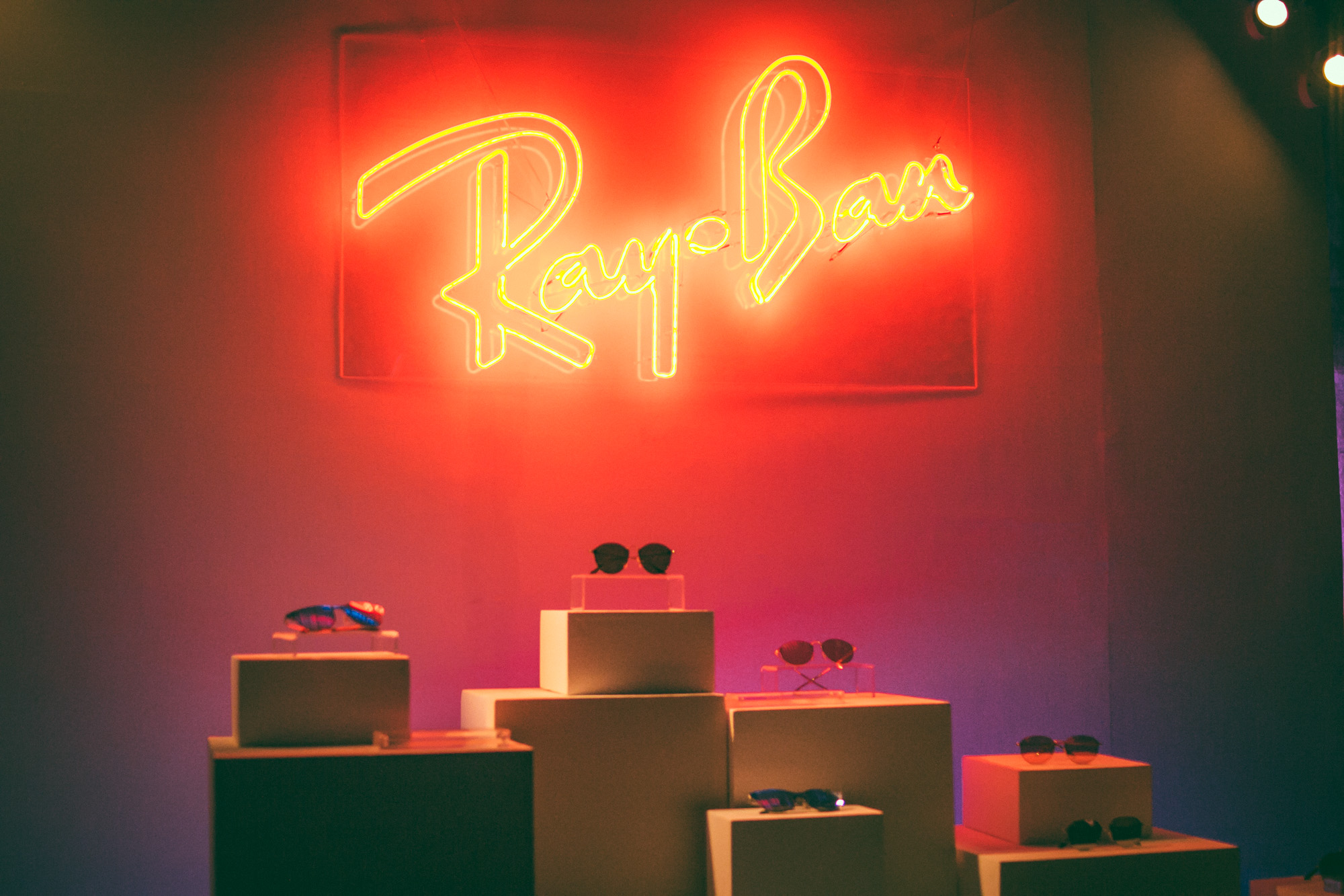 THE RAY-BAN™ BLAZE COLLECTION LAUNCH